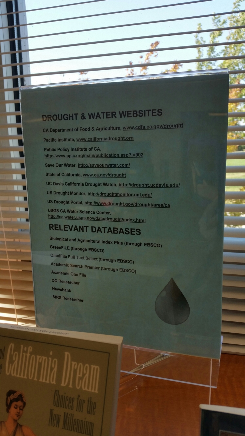 Drought Websites