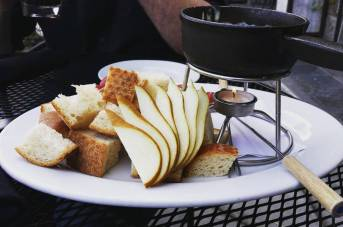 Fondue at The Pear