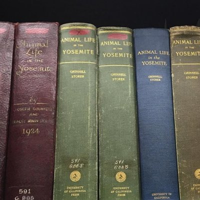 old-animal-life-books