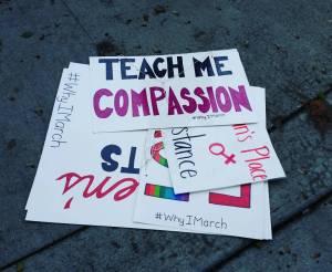 Teach me compassion.